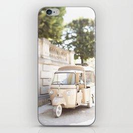 Parisian Tuktuk iPhone Skin