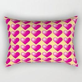 Hearts_D02 Rectangular Pillow