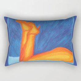 Dyane's Legs Rectangular Pillow