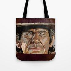 Harmonica Man Tote Bag