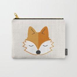 Cute Fox Head Carry-All Pouch