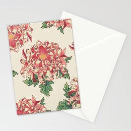 The Chrysanthemum of Pugs Stationery Cards