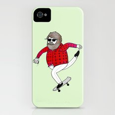 On how to overcome certain obstacles while skateboarding iPhone (4, 4s) Slim Case