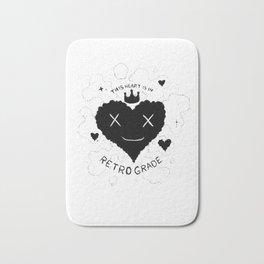 This Heart is in Retrograde Bath Mat