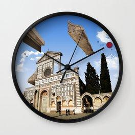 Tetris in Santa Maria Novella Wall Clock