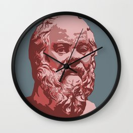 Socrates Wall Clock