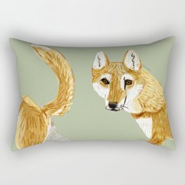 Totem Ginger dingo Rectangular Pillow