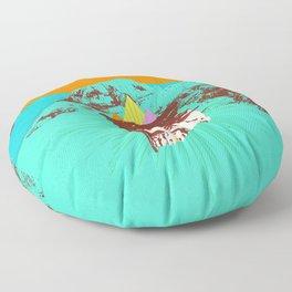 GHOST COAST Floor Pillow
