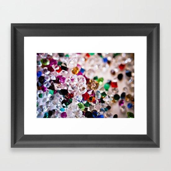 Diamonds 1 Framed Art Print