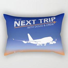 The Next Trip (New Logo) Rectangular Pillow