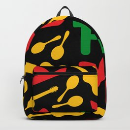 Mexican Theme Pattern Backpack