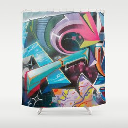 Cassiopea Shower Curtain