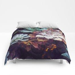 Succulent Wall V2 Comforters