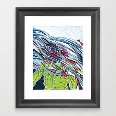 Perfect Day for A Bananafish Framed Art Print