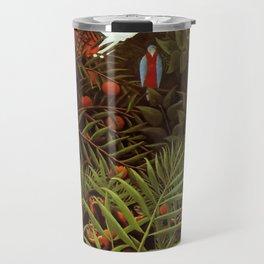 """Henri Rousseau """"Exotic landscape"""", 1908 Travel Mug"""