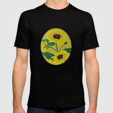 Sunny and bright Mens Fitted Tee MEDIUM Black