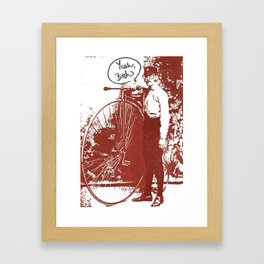 Yeah, Bitch Framed Art Print