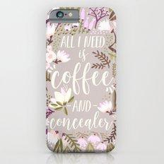 Coffee & Concealer – Spring Palette iPhone 6s Slim Case