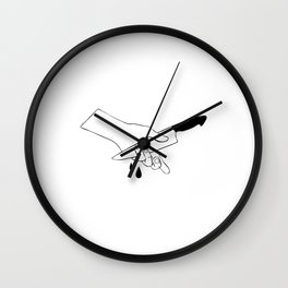 Introversion Wall Clock