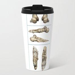Bones of the Foot Travel Mug