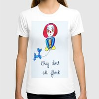 pennywise T-shirts featuring Pessimistic Pennywise by Ashley Petersen
