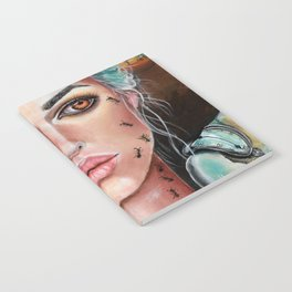 Memories of Dali Fantasy Surrealism by Laurie Leigh Notebook