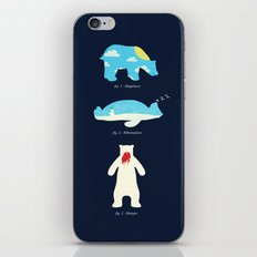 The 3 H's of Bear Life iPhone Skin