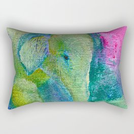 At The Watering Hole Rectangular Pillow