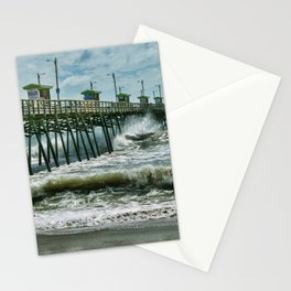 Surge Under The Pier Stationery Cards
