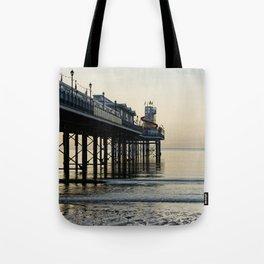 Paignton Pier Tote Bag
