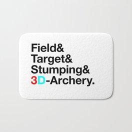 Field & Target & Stumping & 3D Archery Bath Mat