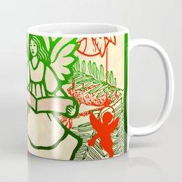 singing angels with scrolls Coffee Mug