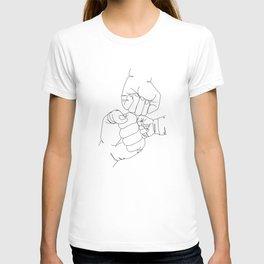 Family Hands Minimal  III T-shirt
