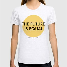 The Future is Equal - Yellow T-shirt