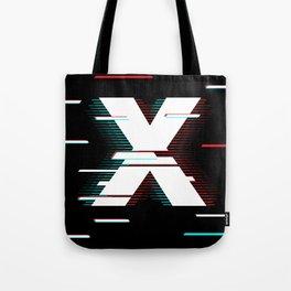 X futuristic poster Tote Bag