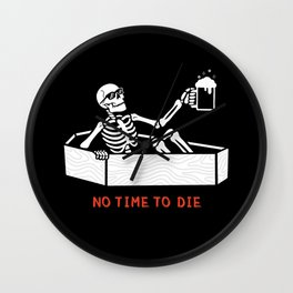 No Time to Die Wall Clock