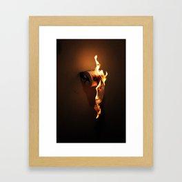 PAPER Framed Art Print