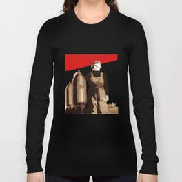 POWER TO THE MASSES  Long Sleeve T-shirt