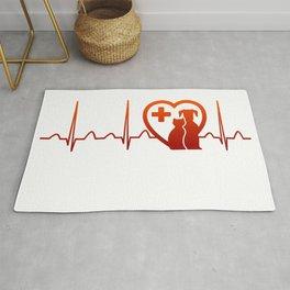 Vet Heartbeat Rug