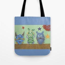 No Evil Monster Babies Tote Bag