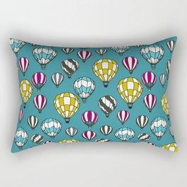 Colourful kids balloons pattern Rectangular Pillow