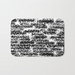 Spidery Lines Bath Mat