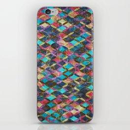 Colorful Geometric Pattern #08 iPhone Skin