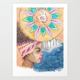 A Mi Manera Art Print