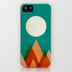 Full moon over Sahara desert Slim Case iPhone (5, 5s)