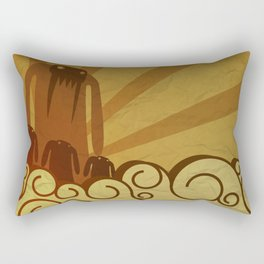Monsters are coming! Rectangular Pillow
