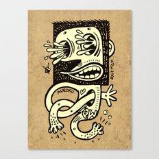 Le Piqué Canvas Print