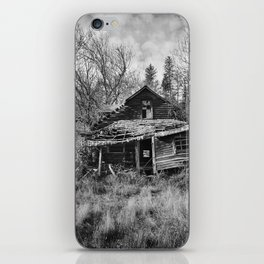 Abandoned House in Oregon iPhone Skin
