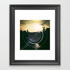 Urban River Framed Art Print