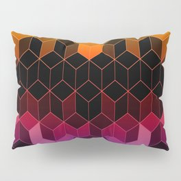 Rainbow Cubes Pillow Sham